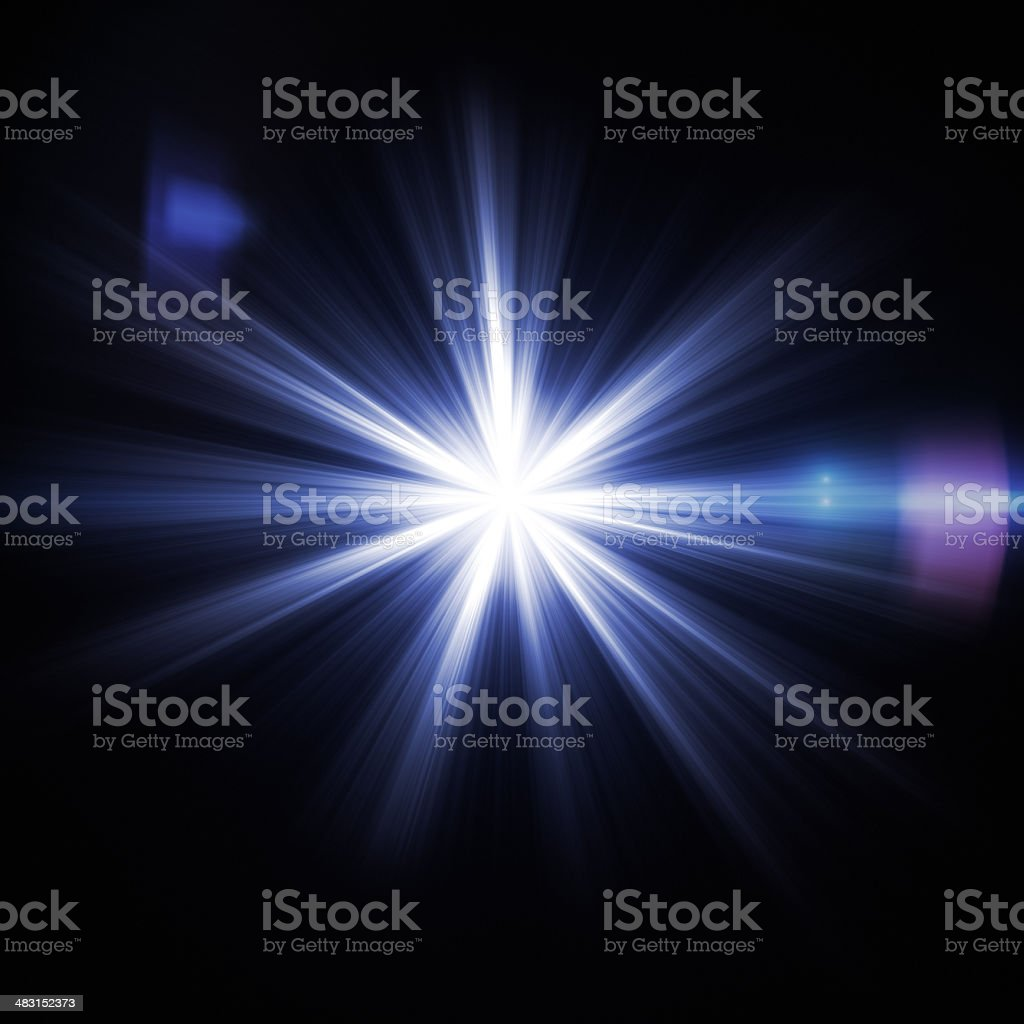 Flash light stock photo