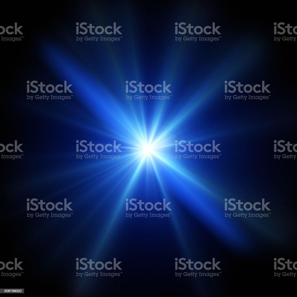 Blue Flash Light