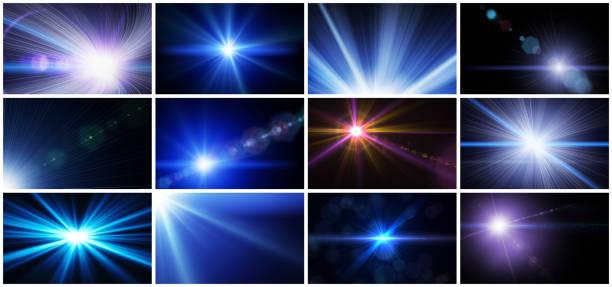 閃光燈和鏡頭耀斑-高品質 - 挑染 個照片及圖片檔