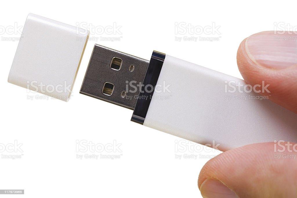 USB flash memory royalty-free stock photo