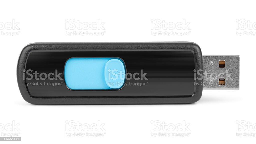 Flash usb memory drive stock photo