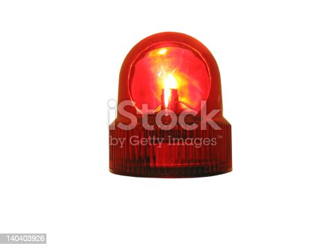 174913699 istock photo Flashing Light 140403926