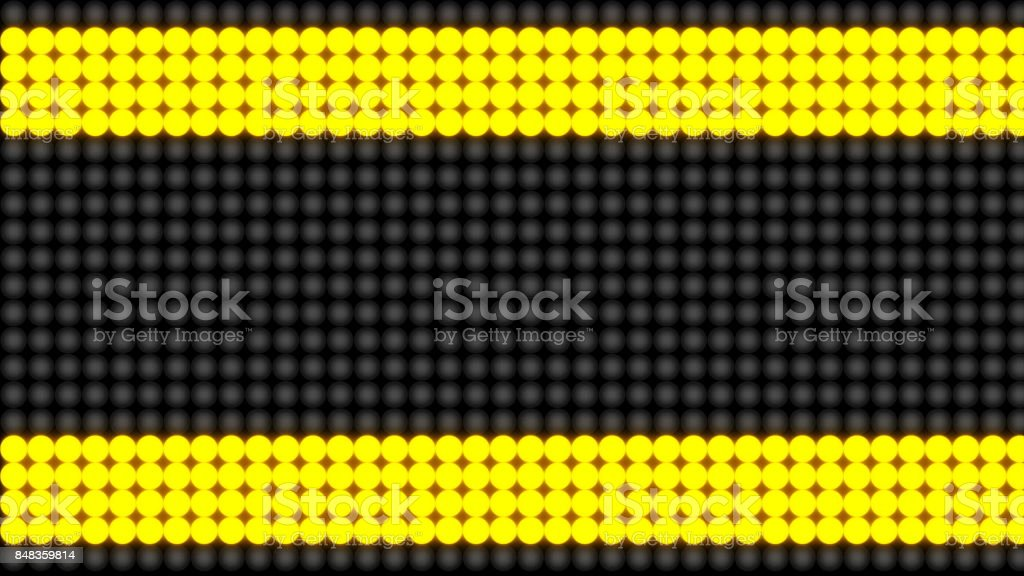 Flashing lights on a background. Technology backdrop stock photo
