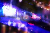 Flashing Police Light