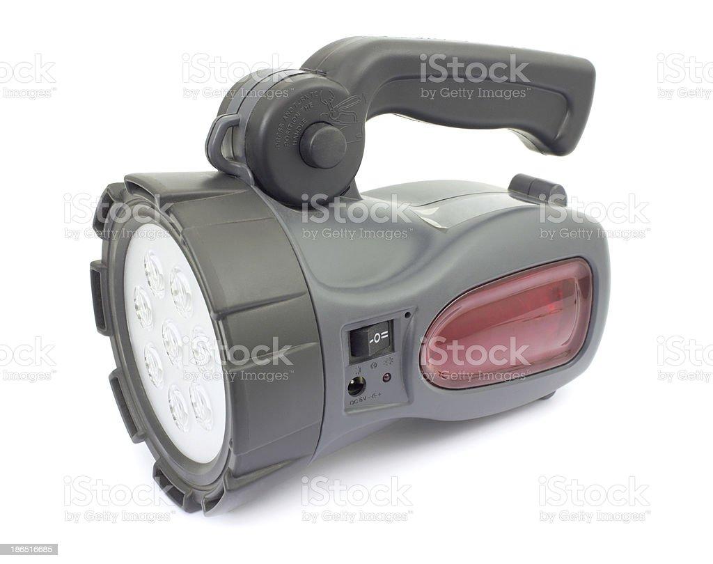 Flashlight for emergency signaling royalty-free stock photo