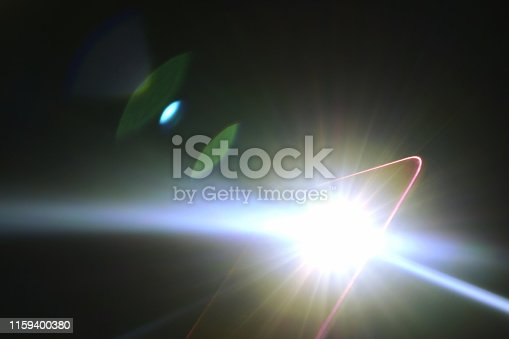 istock flashlight of mobile phone in dark 1159400380
