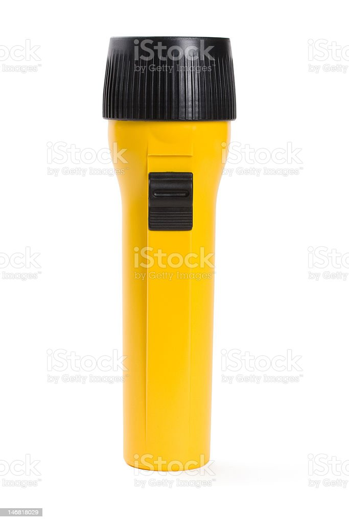 Flashlight royalty-free stock photo