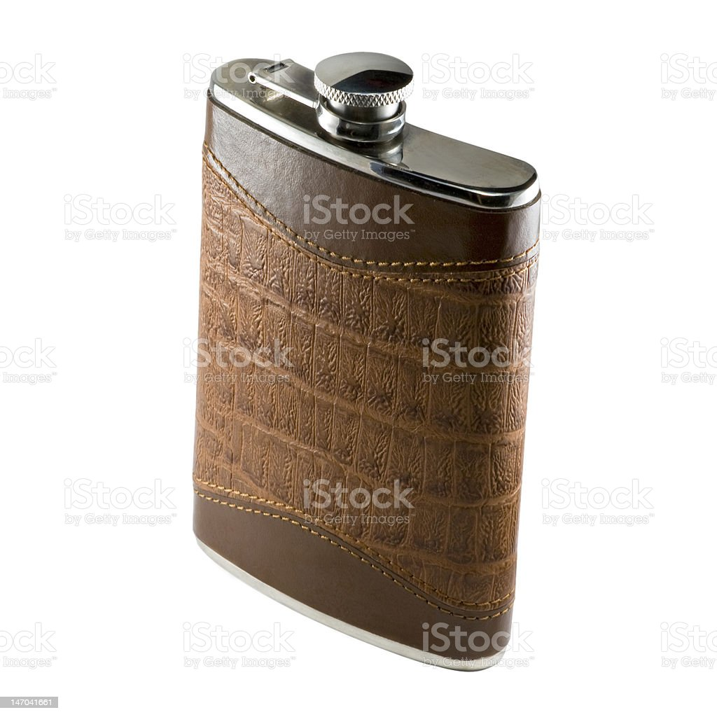 Flask For Alcohol stock photo