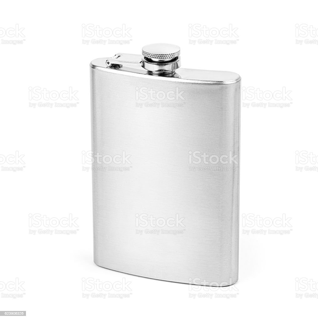 Flask isolated on white background - foto stock