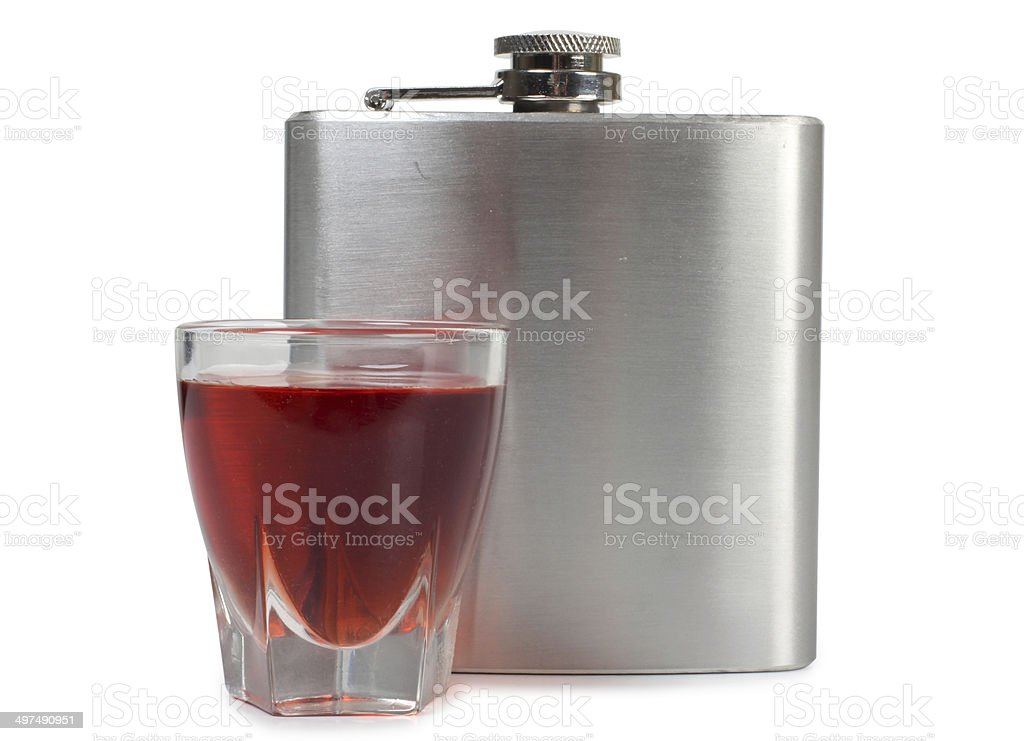 Flask royalty-free stock photo