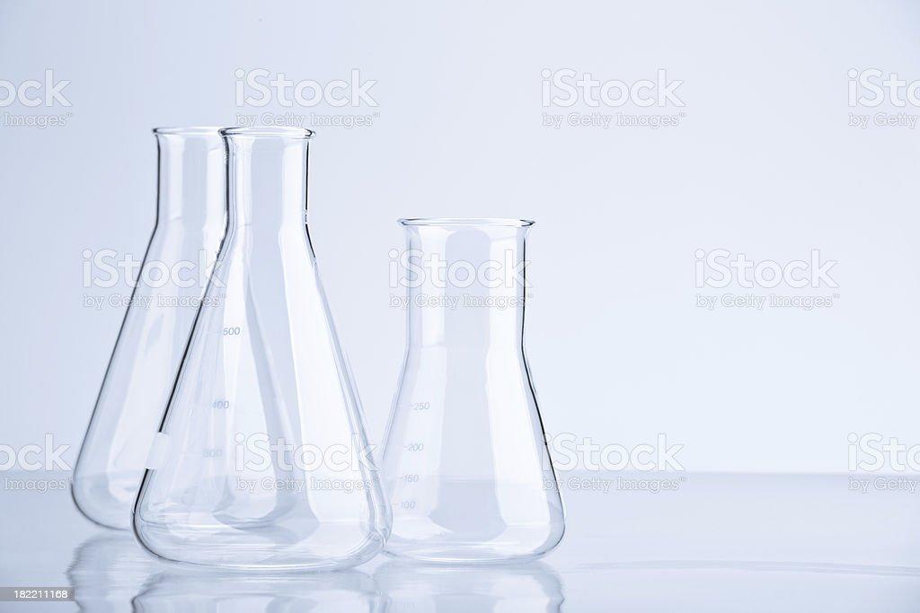 Flasks royalty-free stock photo