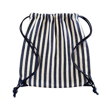 Flat Backpack With Drawstring Stockfoto und mehr Bilder von