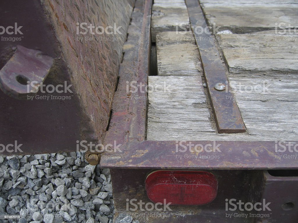Flat Bed Abstract royalty-free stock photo