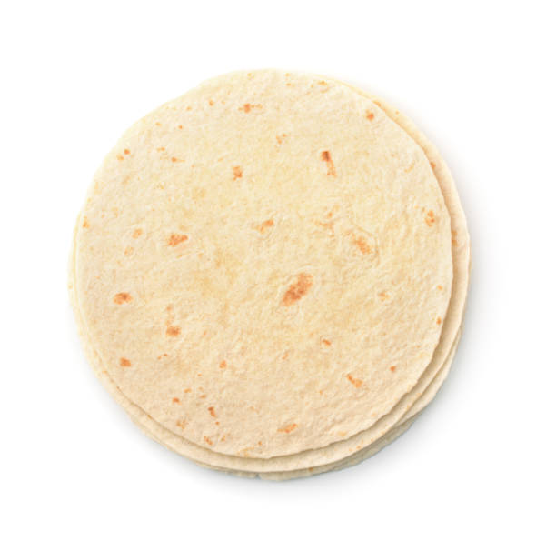 flat bread - tortilla stock photos and pictures