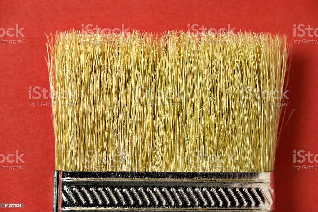 Flat Brush stock photo