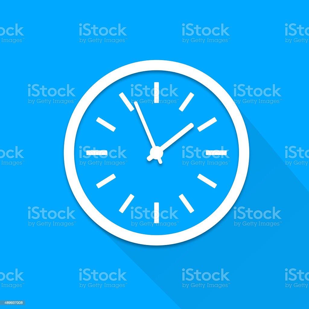 TV-relógio - foto de acervo