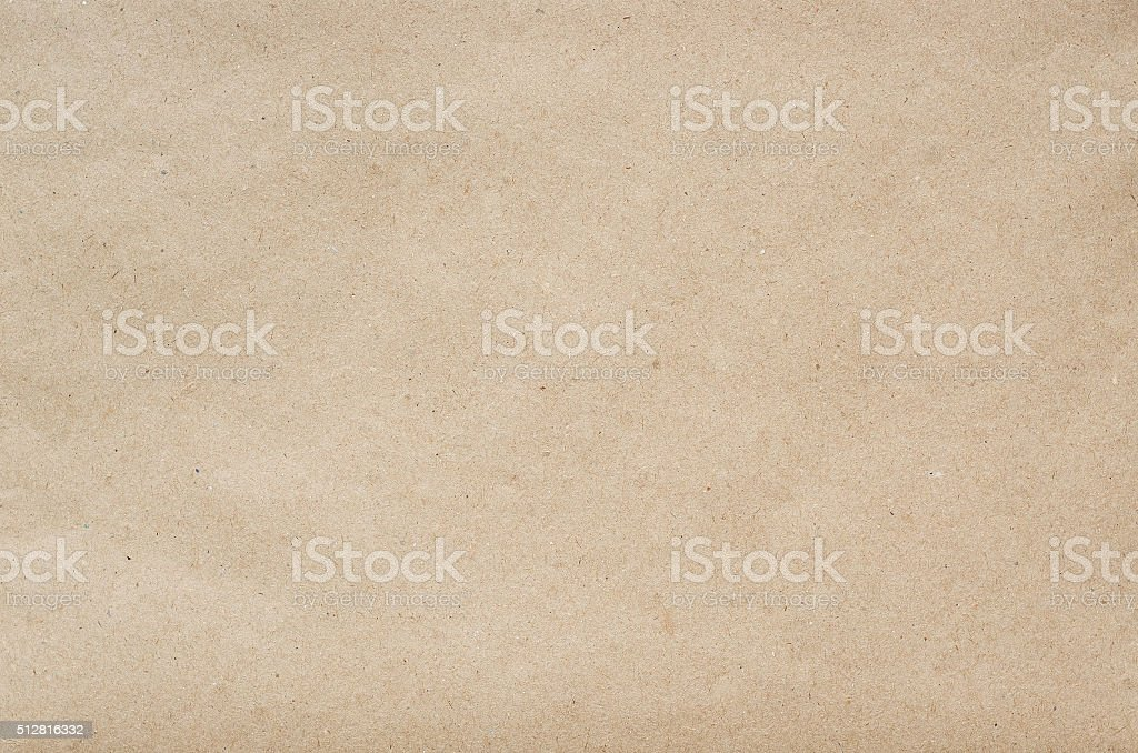 Flat craft eco paper background texture stock photo