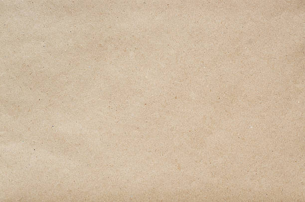 Flat craft eco paper background texture foto