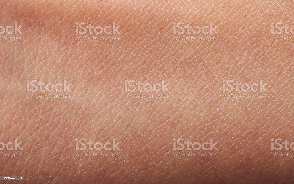 Flat human skin stock photo