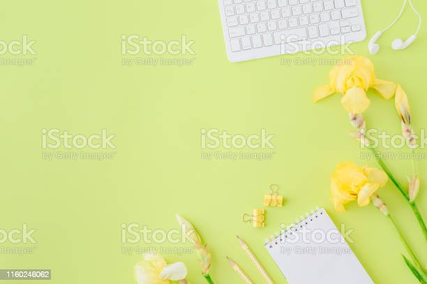 Flat lay blogger or freelancer workspace with a notebook keyboard picture id1160246062?b=1&k=6&m=1160246062&s=612x612&h=uv2dglht 7ammnsvwxal2wvygd108ujly0xgjgo vvc=