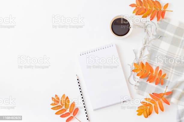 Flat lay blogger or freelancer workspace with a notebook scarf and picture id1168462620?b=1&k=6&m=1168462620&s=612x612&h=flfxeimulpbfo1zkpab2svy2bdcqn8devmsgjdd6vfi=