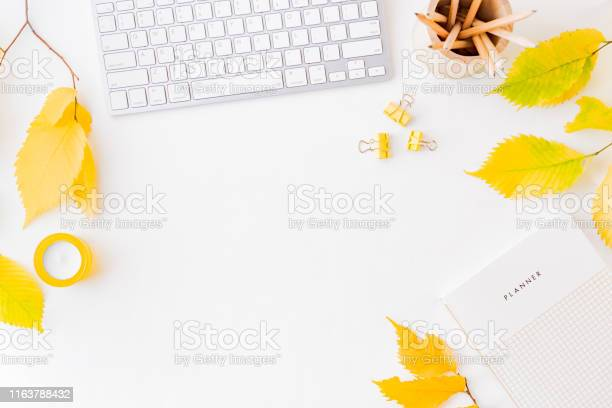 Flat lay blogger or freelancer workspace with a planner keyboard picture id1163788432?b=1&k=6&m=1163788432&s=612x612&h=px0r ibkouetnupfga9opyxwhmxaucocbmwdalihk1w=