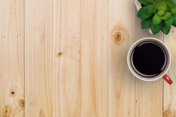 wohnung lag der geschäft exemplar arbeitsbereich der schreibtisch. - www kaffee oder tee stock-fotos und bilder
