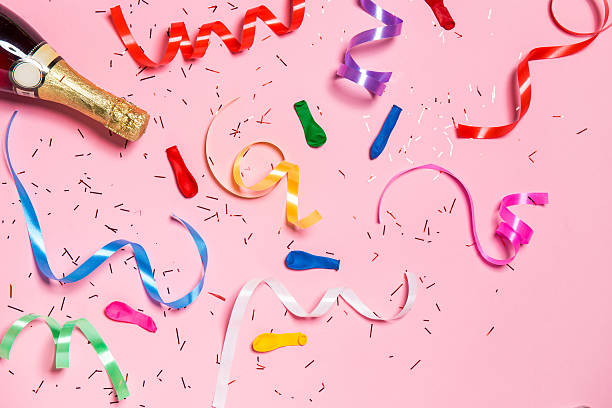 Flat lay of Celebration - Photo