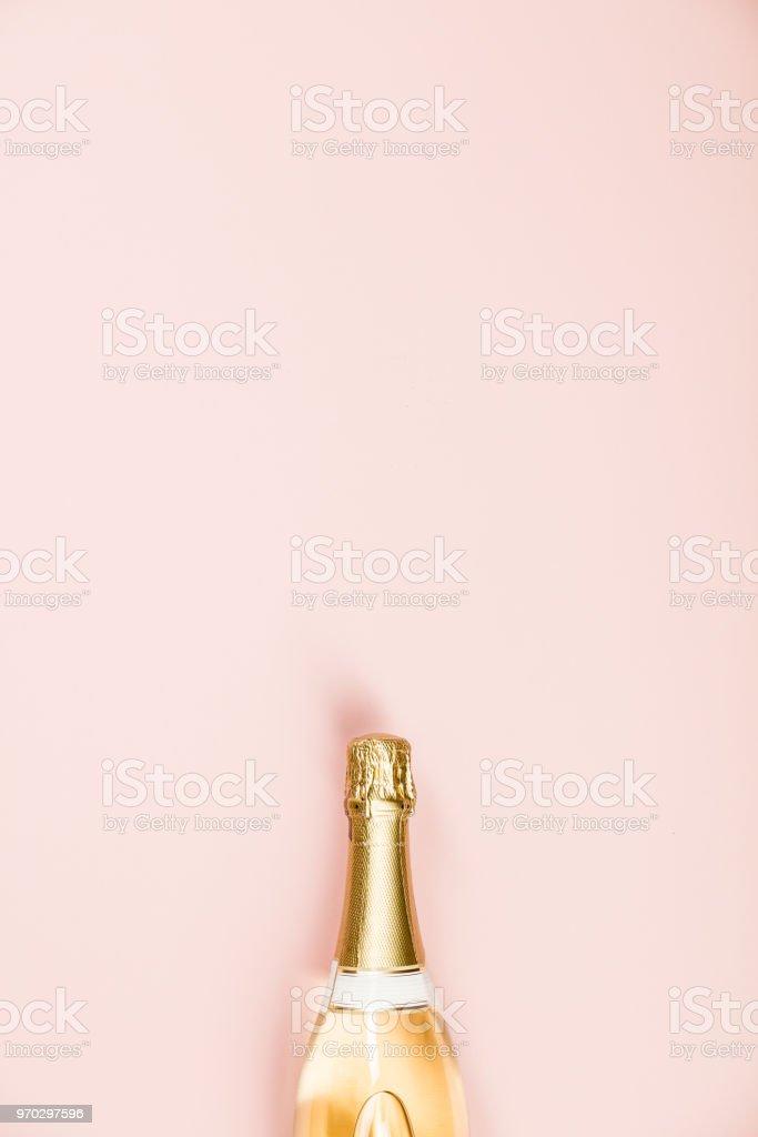 Flat lay of Celebration stock photo