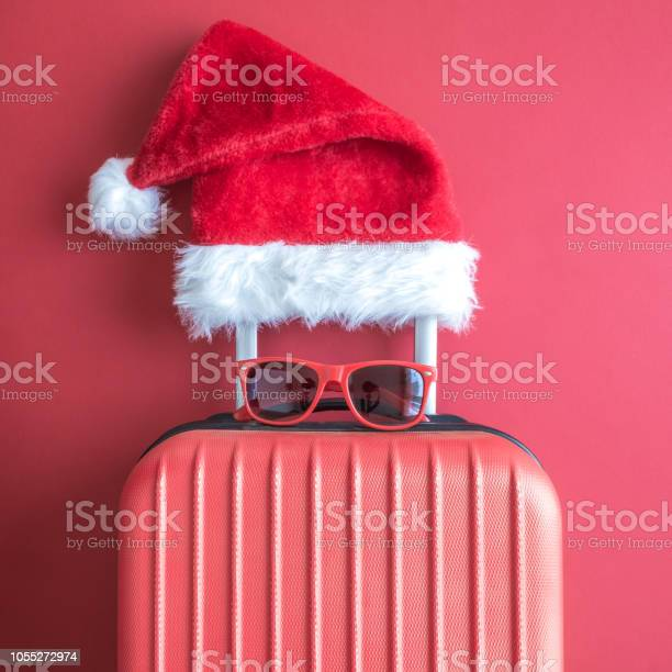 Flat lay of santa claus hat sunglasses and luggage abstract isolated picture id1055272974?b=1&k=6&m=1055272974&s=612x612&h=u3lhnv8cw ke0o9 0rimhi3ssk7sd46ldj44vi52tpa=