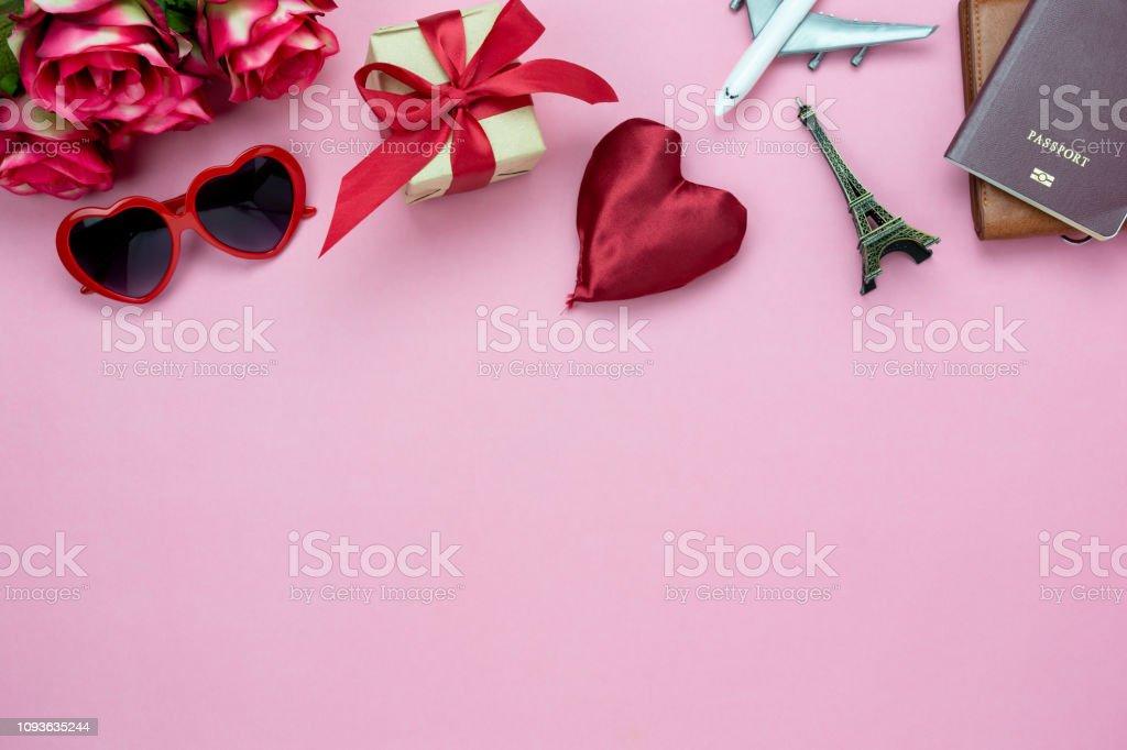 Reisen zum valentinstag