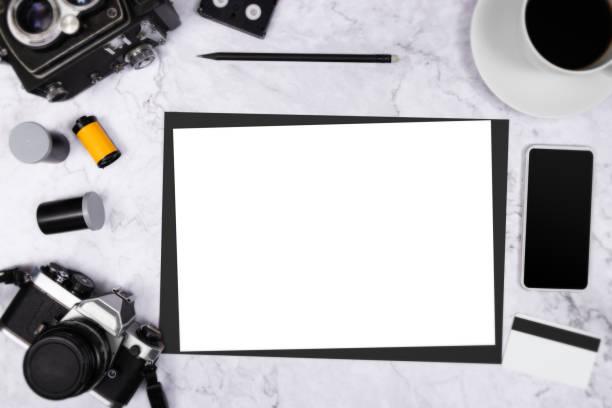 Flat lay vintage camera on white marble background with white blank picture id1145992894?b=1&k=6&m=1145992894&s=612x612&w=0&h=rwmwdnu99smxfzh0wstfeyu7wkt1oc8fwui2mtrtaa4=