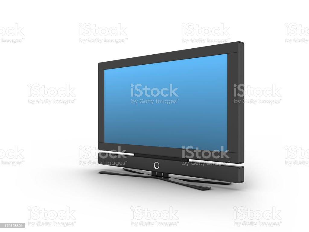 flat LCD Screen royalty-free stock photo