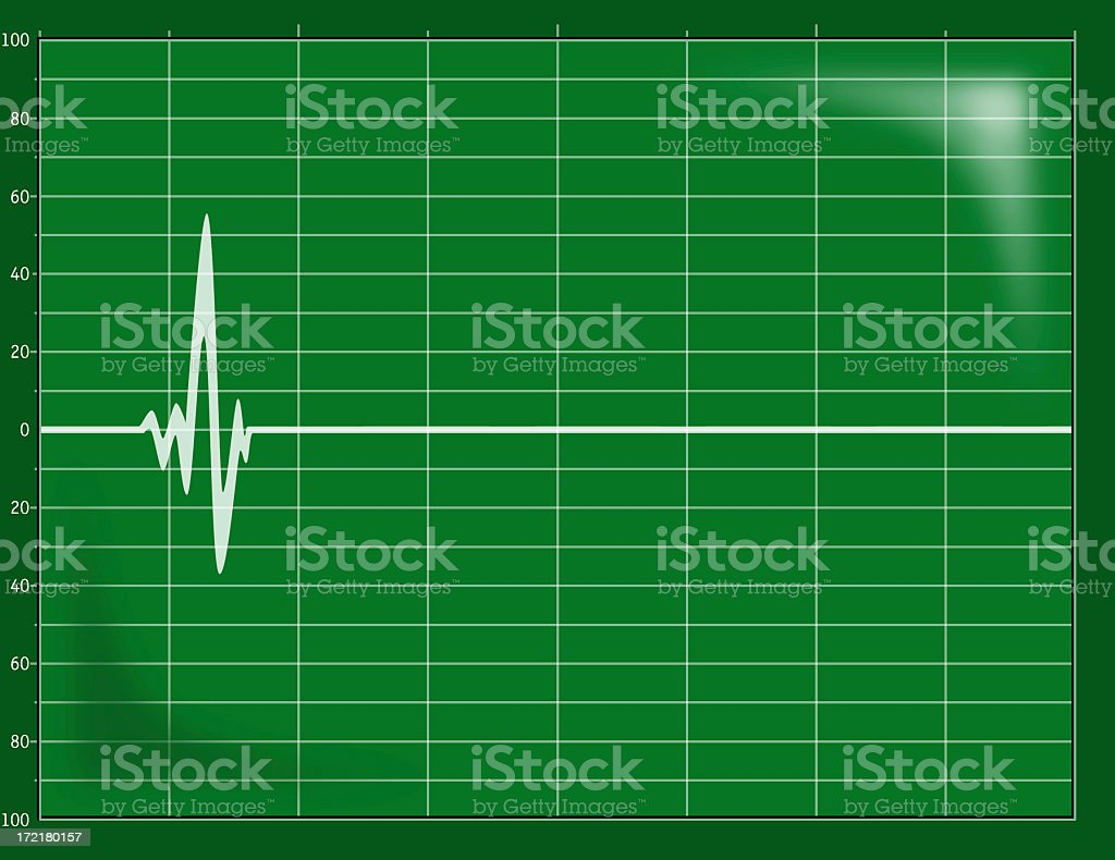 Flat line royalty-free stock photo