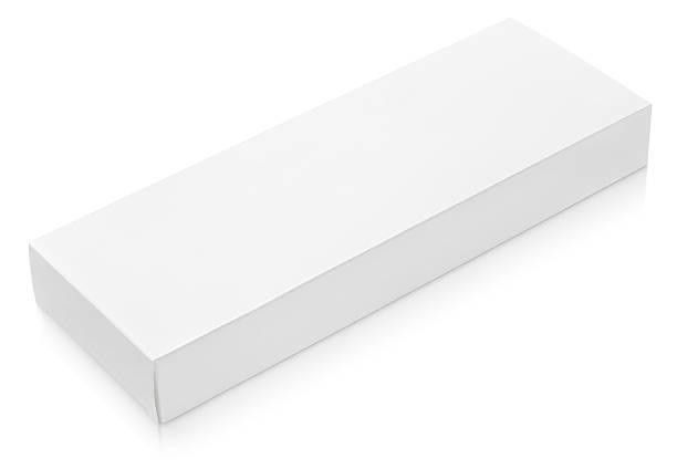 Plat long Boîte en carton modèle pour chocolat - Photo