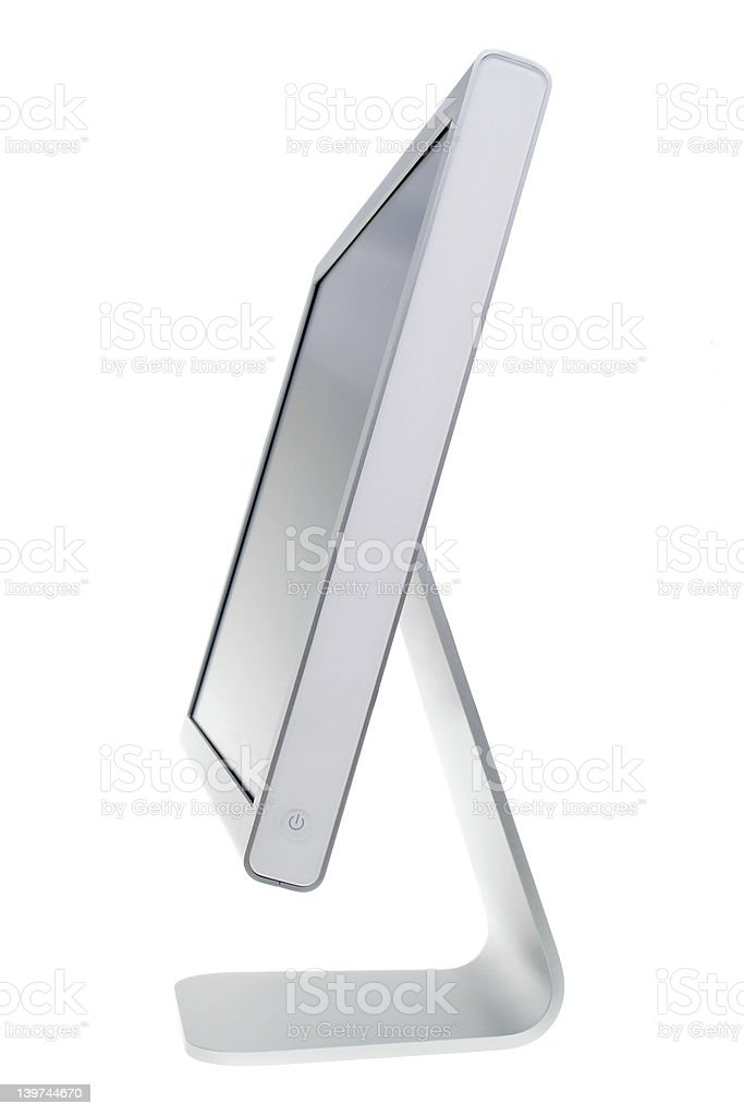 Flat Panel royalty-free stock photo