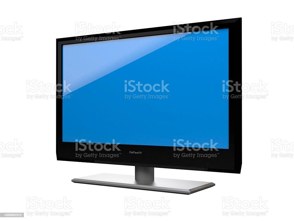 Flat Panel TV stock photo