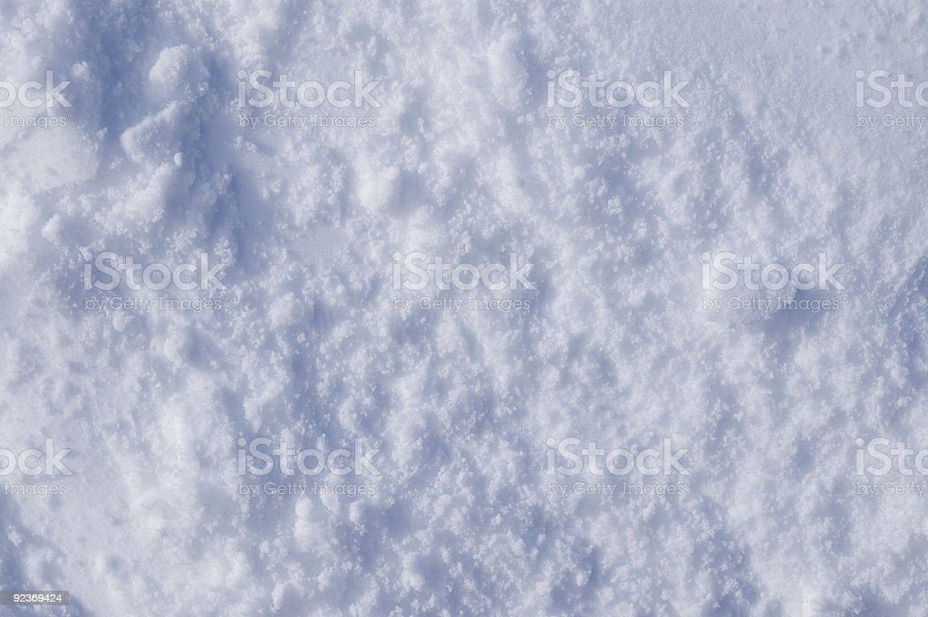 Flat Rough Snow Texture royalty-free stock photo