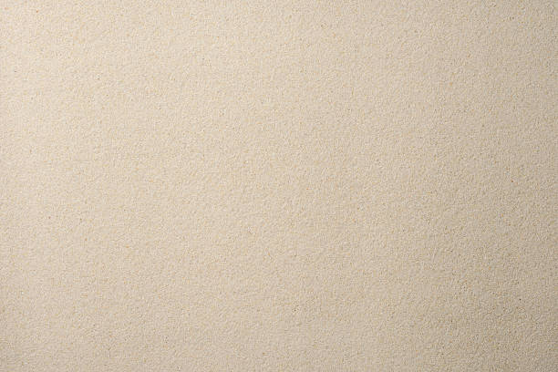 płaski piasku tekstura tło - piasek zdjęcia i obrazy z banku zdjęć