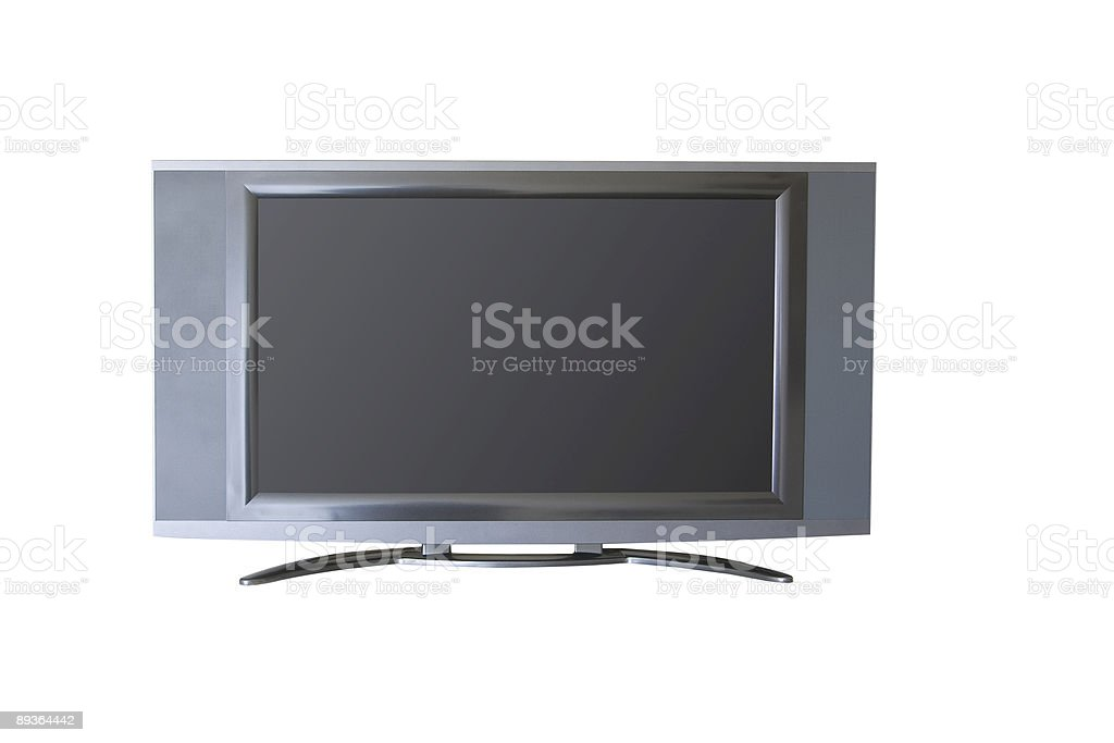 flat screen royalty-free stock photo