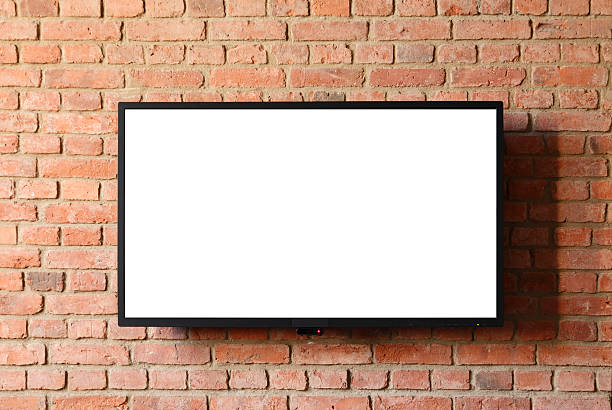 flat screen tv - flat screen stock photos and pictures