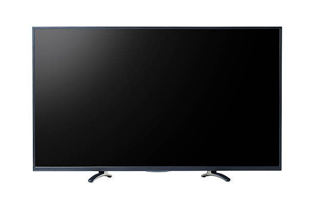 flat screen TV. stock photo
