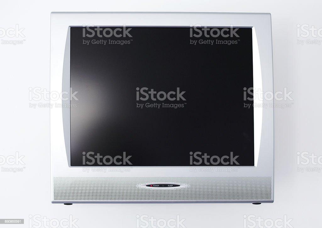 flat screen TV royalty free stockfoto