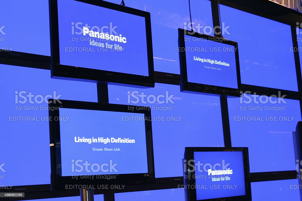 Flat screen TVs from Panasonic