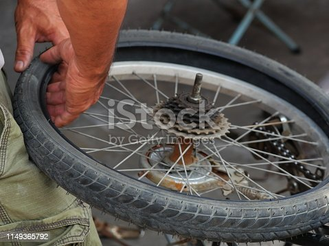 Wheel, Bicycle Chain, Chain - Object, Help - Single Word, Spoke