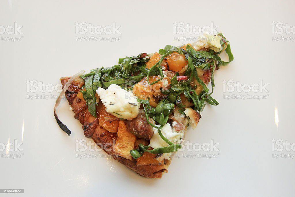 Flatbread/ Pizza Slice stock photo