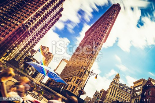 458128003 istock photo Flatiron Building in New York 510126267