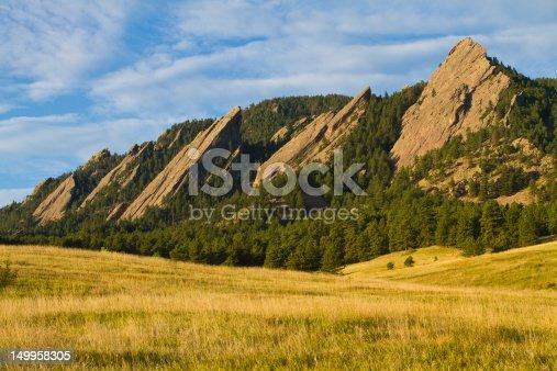 istock Flatiron Morning Light Boulder Colorado 149958305