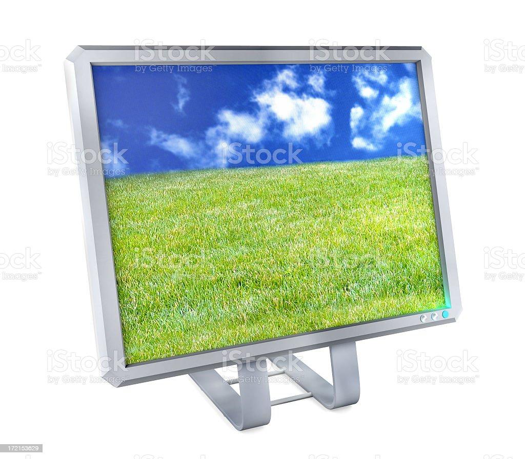 Flatscreen Display, SUPER HIGH QUALITY stock photo