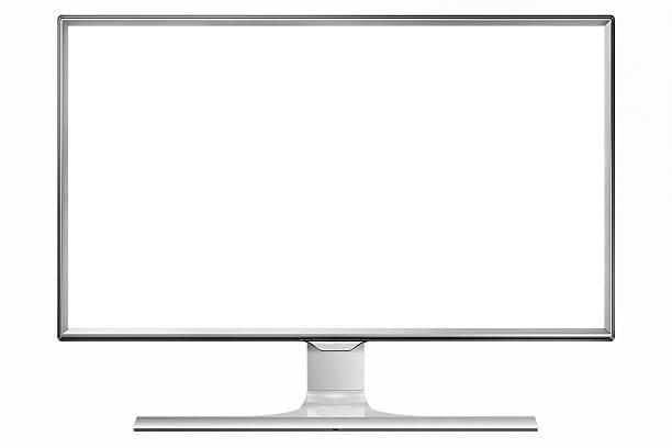 4 K televisor de pantalla plana - foto de stock